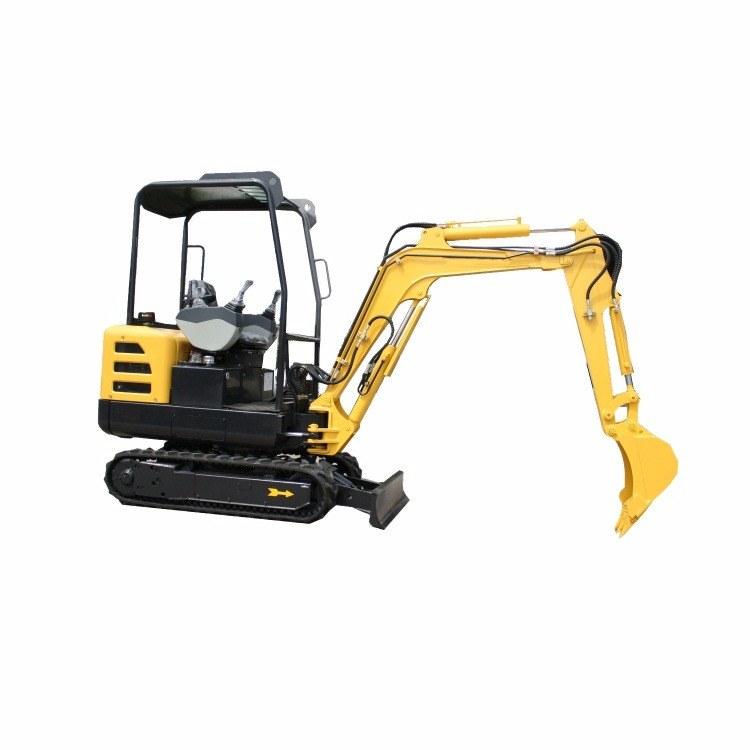 2吨小型果园带驾驶室挖掘机