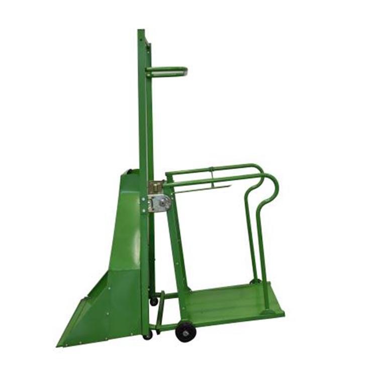 程煤无动力铲谷装袋机  厂家直销无动力铲谷装袋机  手推式谷物装袋机直销