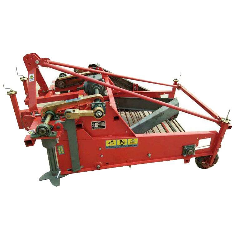 程煤大蒜收获机 四轮后置悬挂式大蒜收获机直销