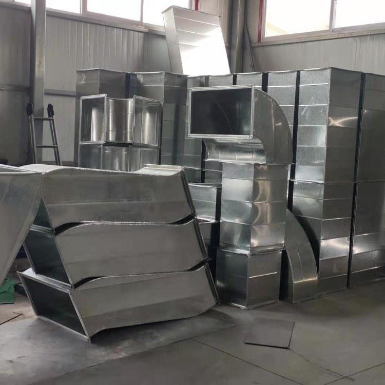 厂家直销螺旋风管 镀锌板铁风管加工 耐高温耐腐蚀 厂家直销品智通风通风管道