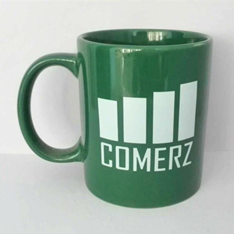 陶瓷杯促销 创意印刷logo马克杯 供应广告促销陶瓷杯批发 定制