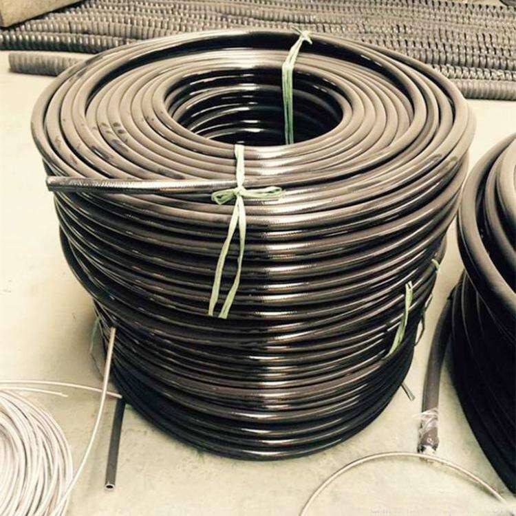 德利供应尼龙树脂管 浙江测压尼龙树脂管 钢丝增强弹性管规格齐