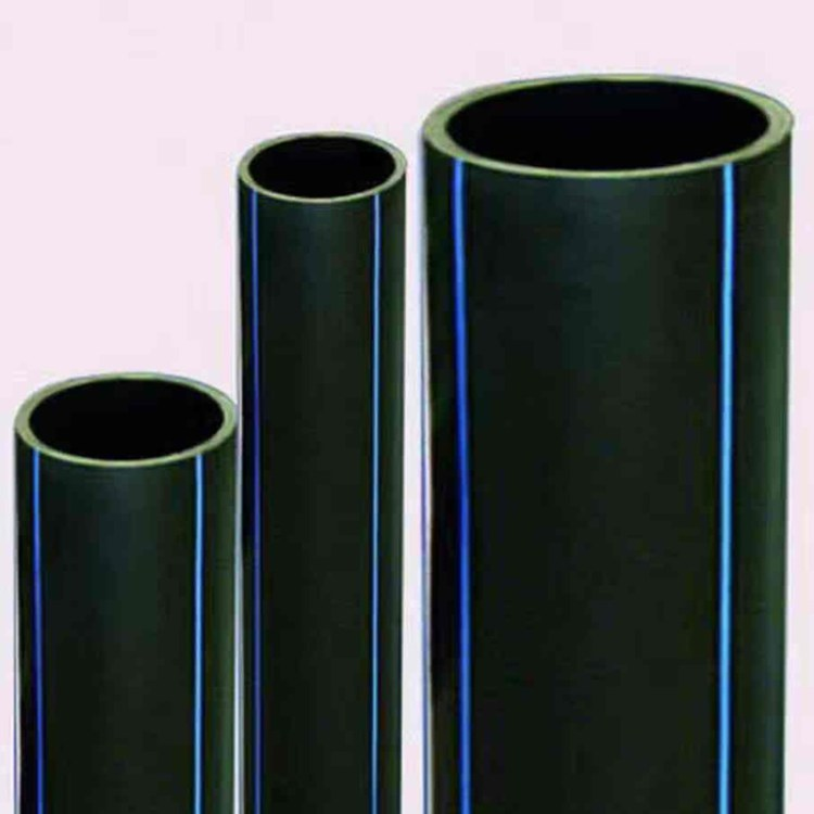 厂家直销PE给水管 高韧性塑料HDPE管 高密度工程给水管材批发