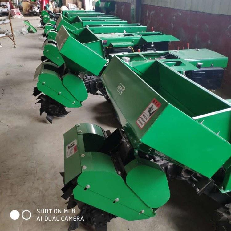 自走式微型开沟回填机 果园管理机旋耕机 农用履带式田园管理机