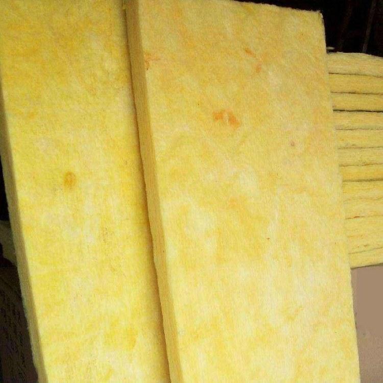 恒富厂家生产离心玻璃棉保温板单面带铝箔贴面 a级50mm防火玻璃棉板