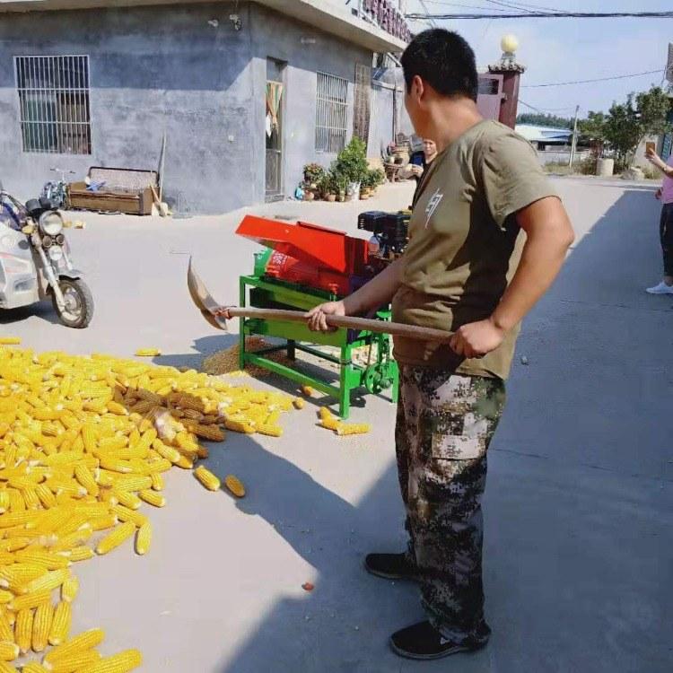 富强 五谷粮食打谷机 玉米大豆高粱去粒机 新型打麦机
