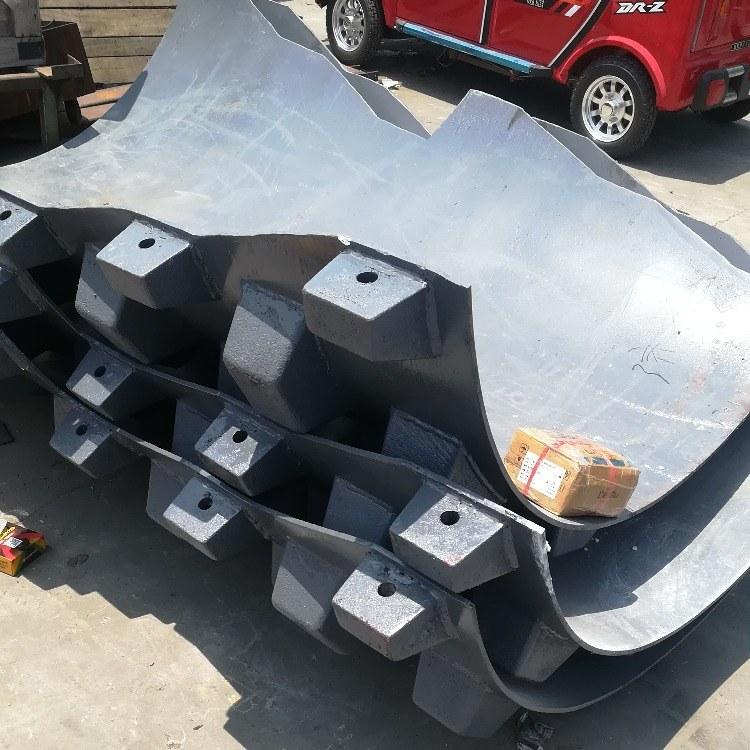 山推压路机凸块263-82-01000 压路机羊角碾厂家定做凸块轮