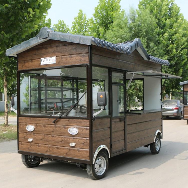 小吃车厂家 多功能快餐车 电动四轮移动早餐车 摊位小吃车 酸辣粉小吃车