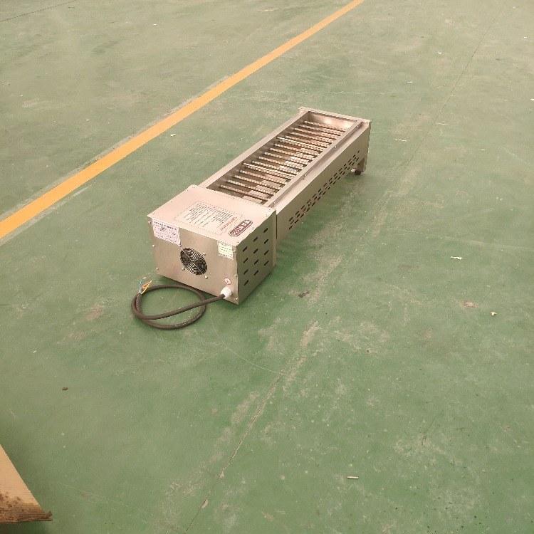 科尼红外线无烟烧烤炉 1.2米款黑金管无烟电烤炉 厂家直销 无烟环保 烧烤炉