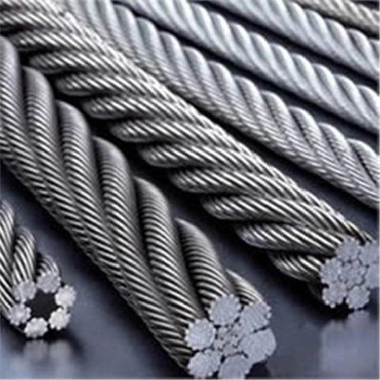 德力供应 钢构玻璃棉拉网 专用涂塑包塑钢丝绳