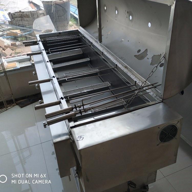 科尼烤全羊吊炉 1.8米款电烤全羊炉  厂家直销 无烟环保 无烟烧烤炉