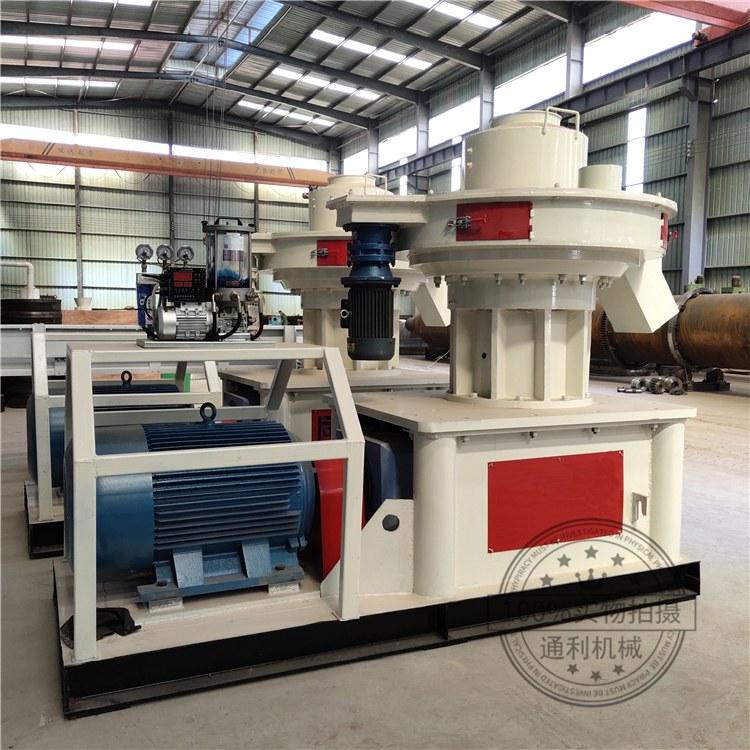 秸秆压块机 生物燃料颗粒机多功能型一机多用 通利秸秆压粒机生产线