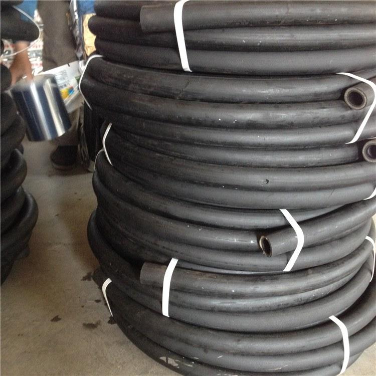 德利矿用输水胶管 高压钢丝编织胶管 骨架大口径膨胀输水胶管