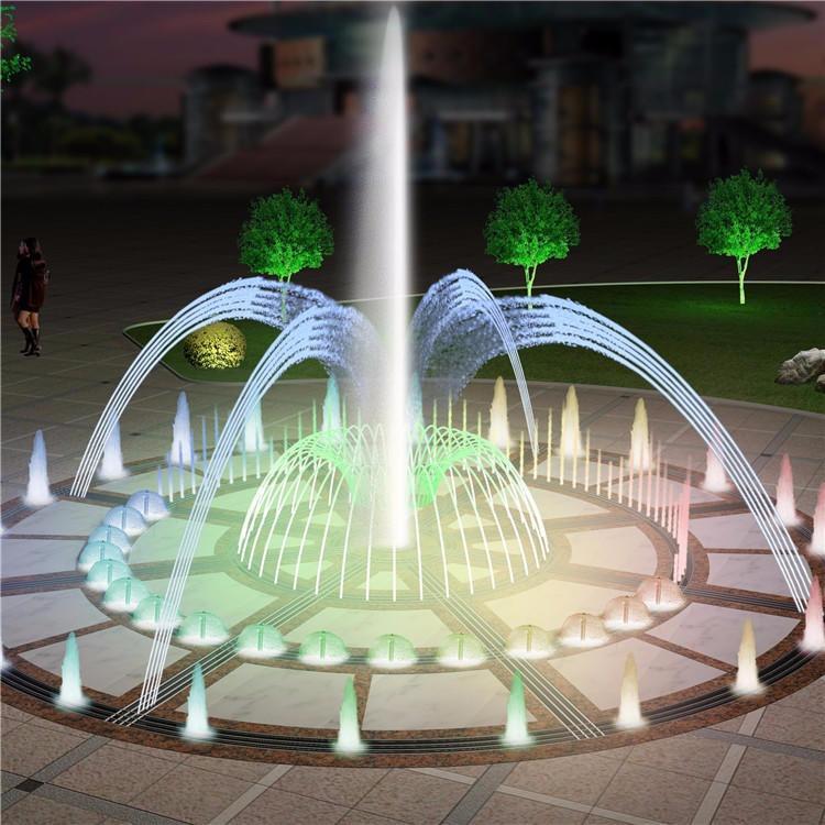 保定喷泉商家供应坚固耐用音乐喷泉视频致电创荣园林