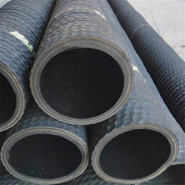 挖泥船专用钢丝骨架胶管耐磨钢丝骨架喷砂胶管大口径变径胶管
