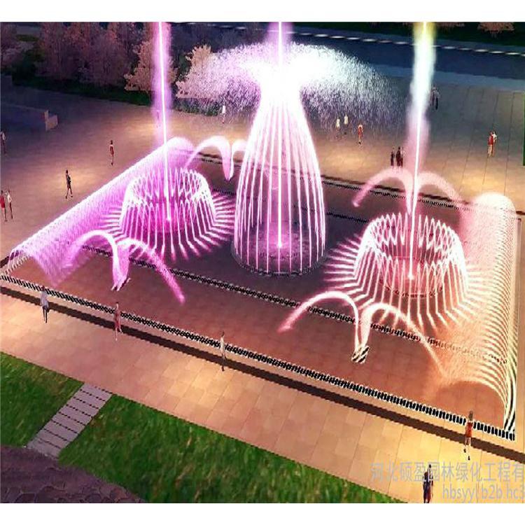 丘北音乐喷泉工期音乐喷泉造价优秀商家创荣景观园林