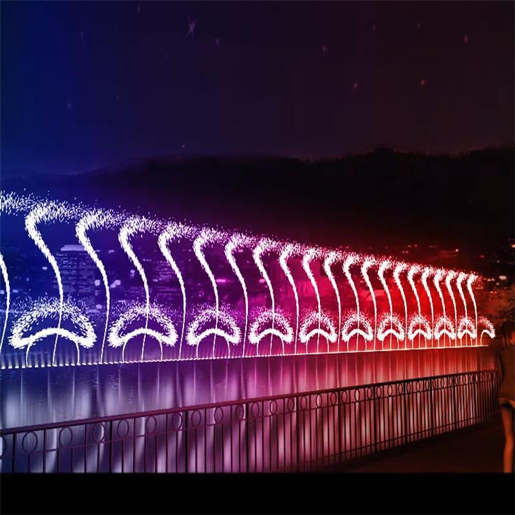 迪拜音乐喷泉厂家音乐喷泉控制系统优秀商家创荣景观园林
