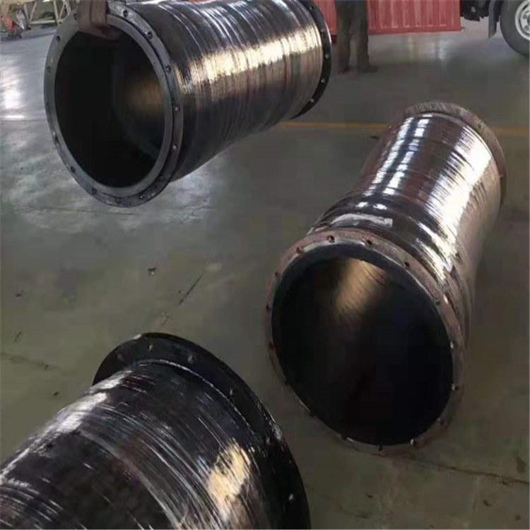 钢丝骨架喷砂胶管钢丝骨架疏浚胶管卸料专用胶管德利厂家价格