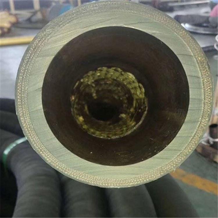 德利直销抽沙船专用陶瓷胶管黑色输水回油陶瓷胶管复合橡胶管厂家