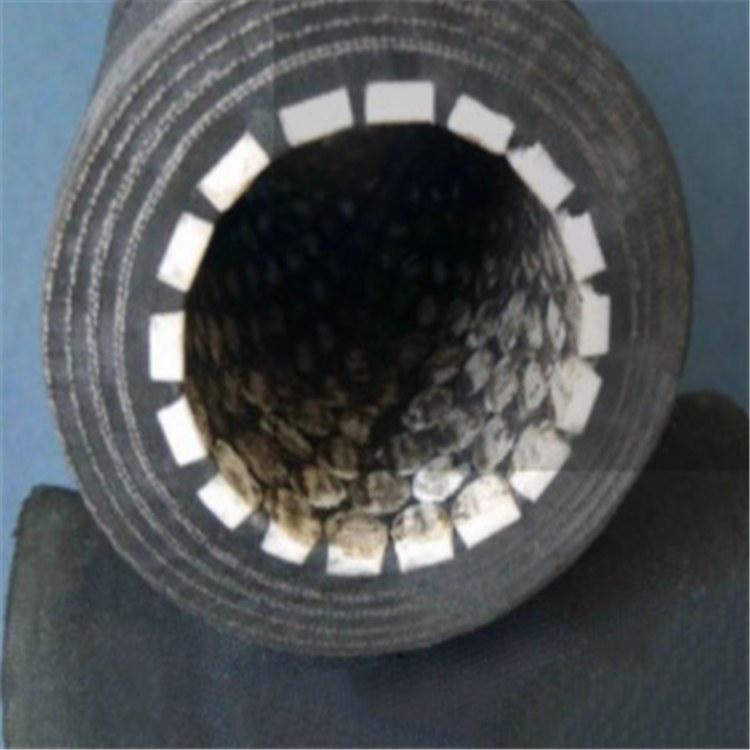 尼龙帘子线陶瓷胶管德利夹布夹线陶瓷胶管超耐磨喷浆胶管厂家价格