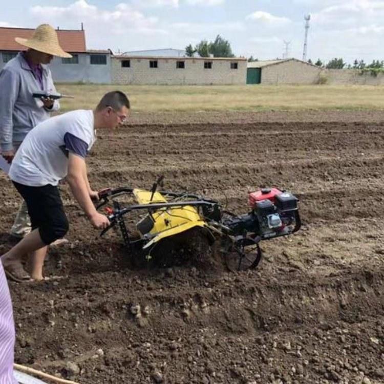 湖南 链轨式田园管理机 翻土旋耕机 家庭农场专用