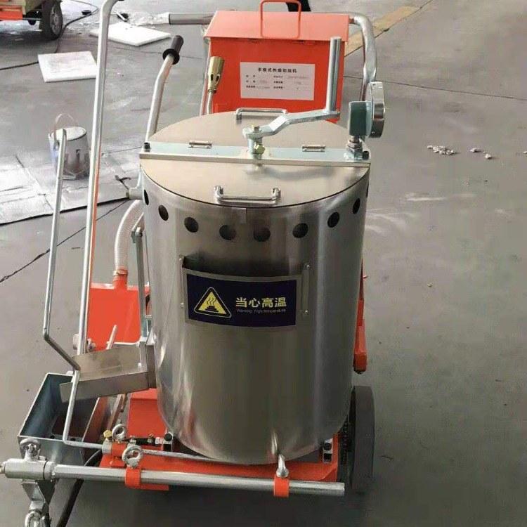 远佳YJ-08高级手推式热熔划线机