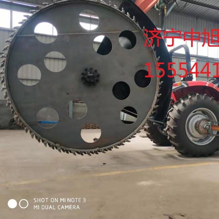 济宁中旭机械专业  链式开沟机 型号 zx-80   开沟效率高
