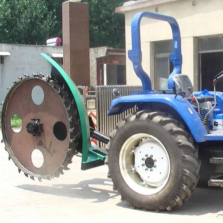 济宁中旭小型拖拉机开沟机  开沟机   路面开槽机 土路开槽机械大型  各种开沟机价格