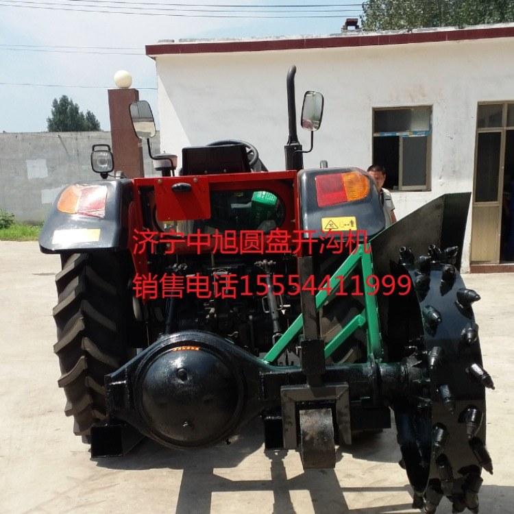 济宁中旭机械专业  链条式开沟机 型号 zx-80   开沟效率高