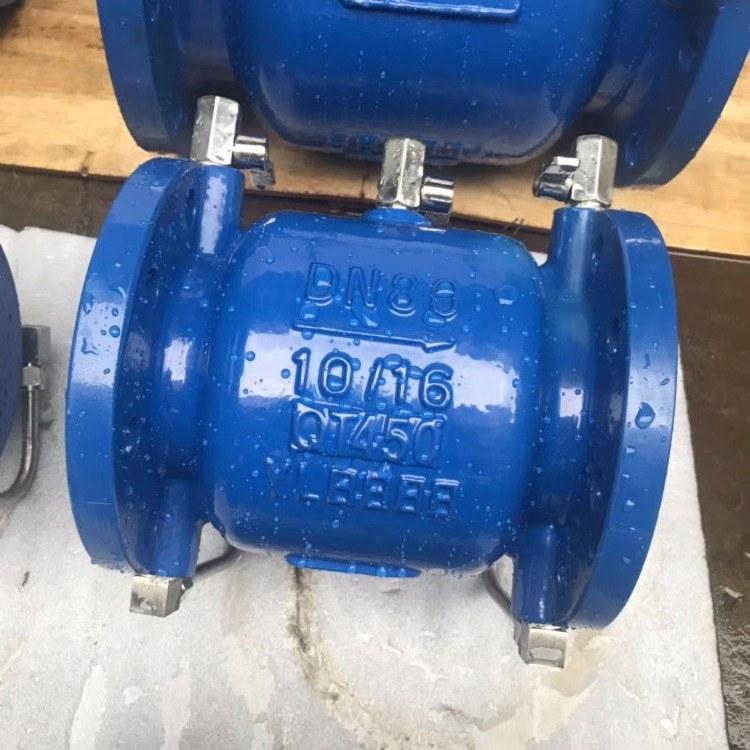 厂家直销 LHS743X低阻力倒流防止器DN100 铸钢低阻力倒流防止器