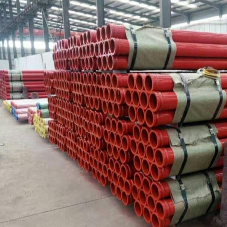 盐山华硕泵管生产厂家    耐磨泵管   双层耐磨泵管   泵管厂家