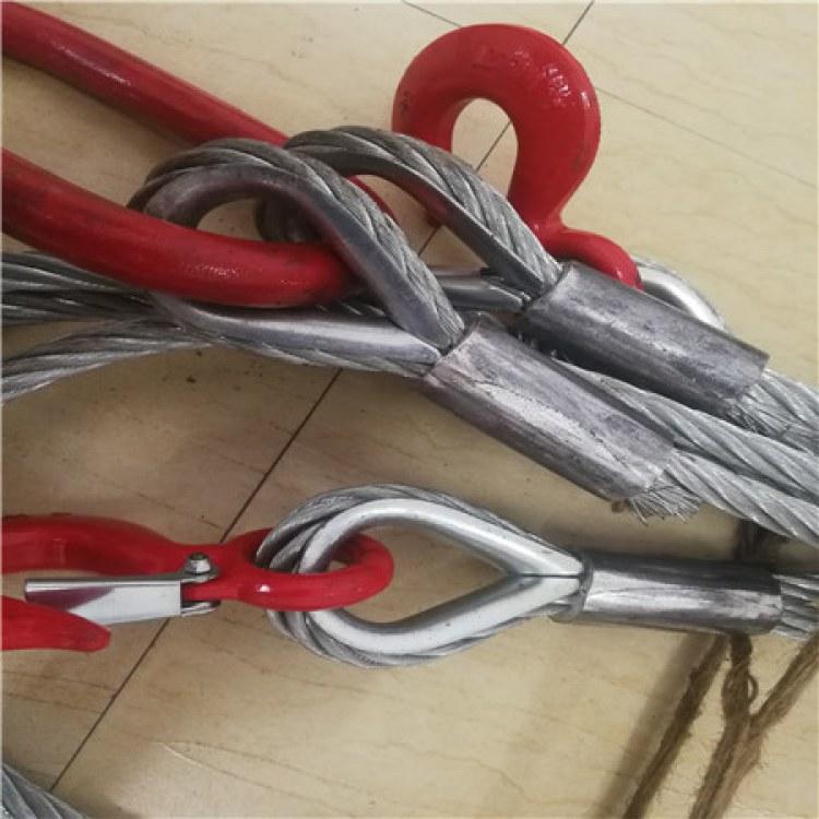 泰州 镀锌压制钢丝绳 东方力神吊具