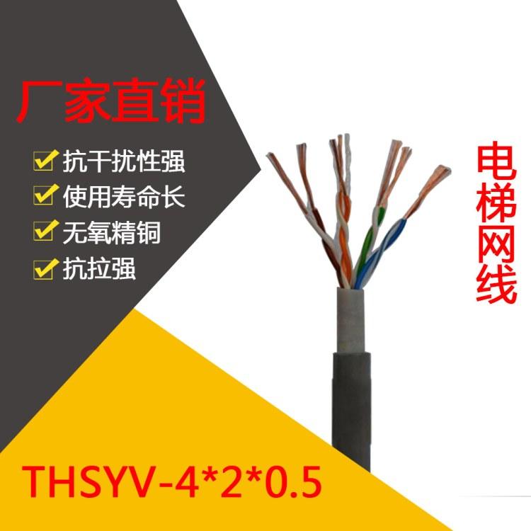 长沙丰旭 厂家批发电梯专用超五类非屏蔽网线 超五类网线 电梯网线