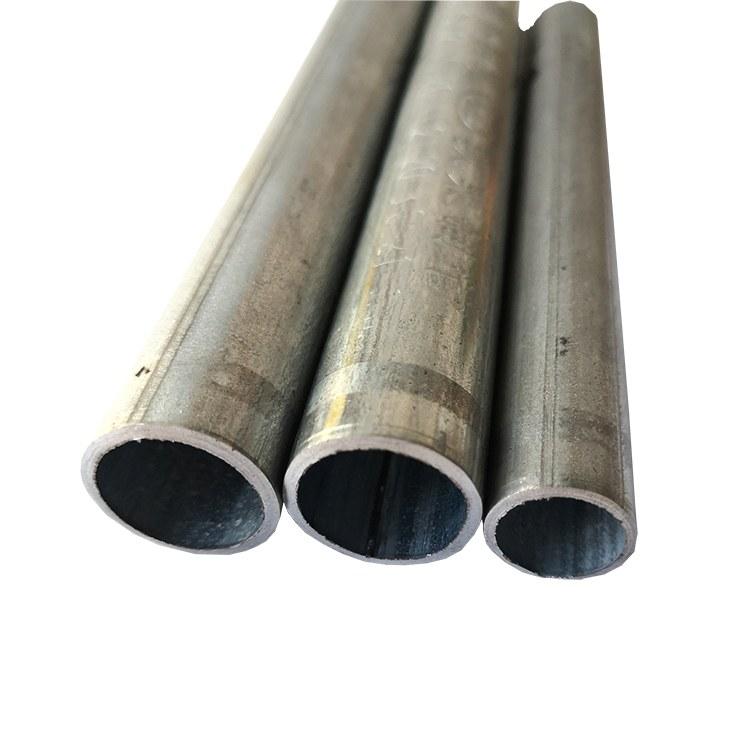 百色热镀锌金属线管D16-D50 镀锌金属穿线管厂家直销