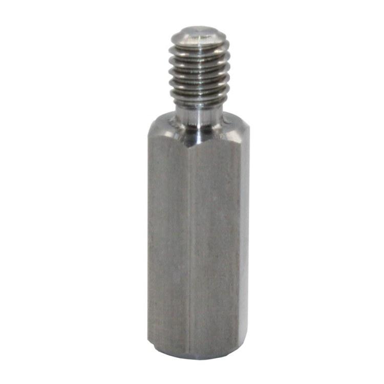 JST晋升泰 深圳 一端外螺纹螺柱 外六角铜柱螺栓 单通一端外螺纹螺柱 厂家现货