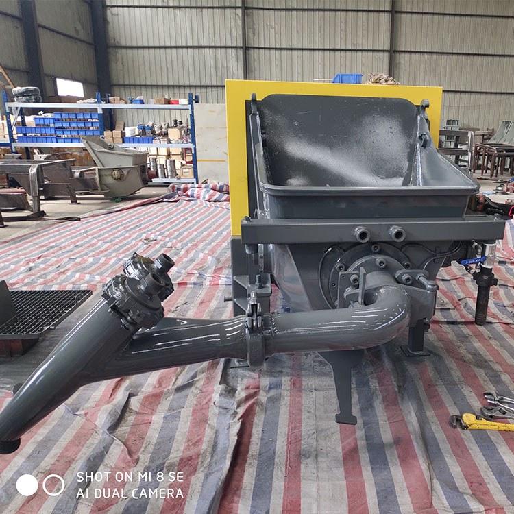 泵送活塞式湿喷机 转子式湿喷机 精恒GYP-90喷浆支护生产商