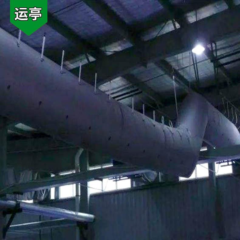 运亭 风管机怎样布线 帆布和风管布 加工厂