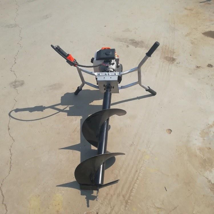 直销多功能螺旋深坑打洞钻眼机 电线杆种树挖坑机 柴油汽油挖坑机