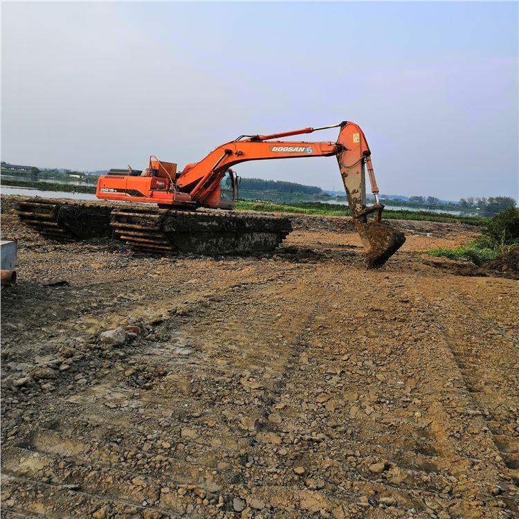 山西临汾市沼泽地挖掘机租赁地铁取土
