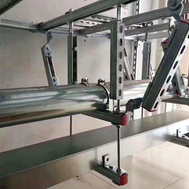鑫博凯管廊托臂支架 暖通抗震支架  厂家品牌直销 设计规范施工方案