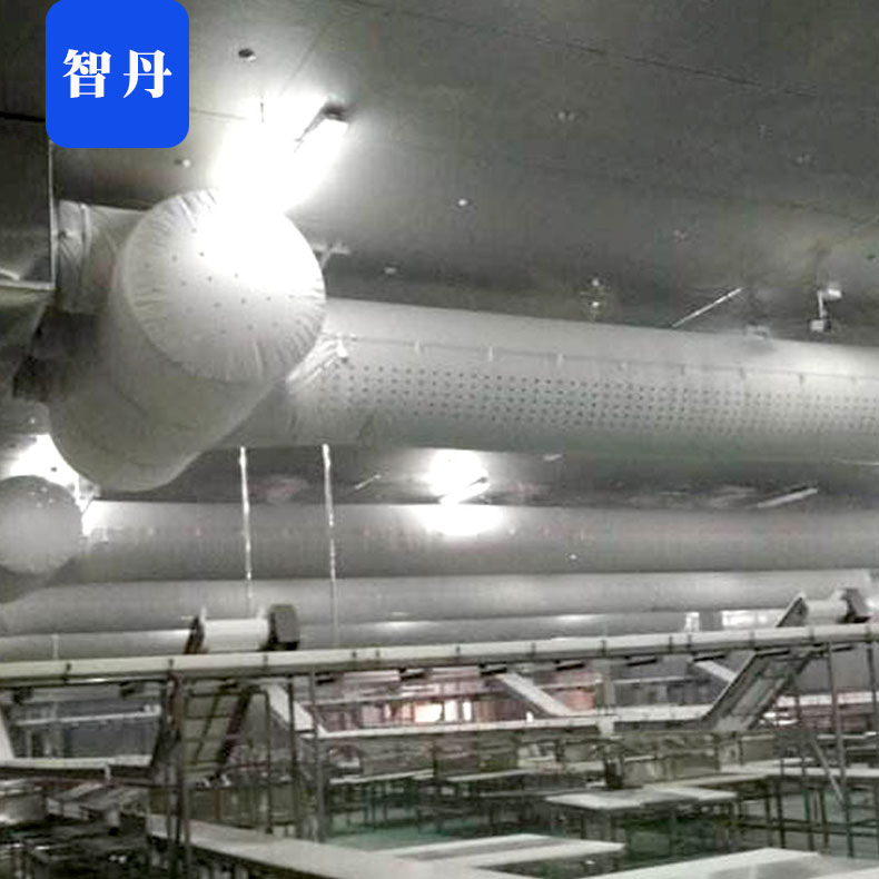 智丹 空调风管机 纤维布风管怎么吊装的 厂家直