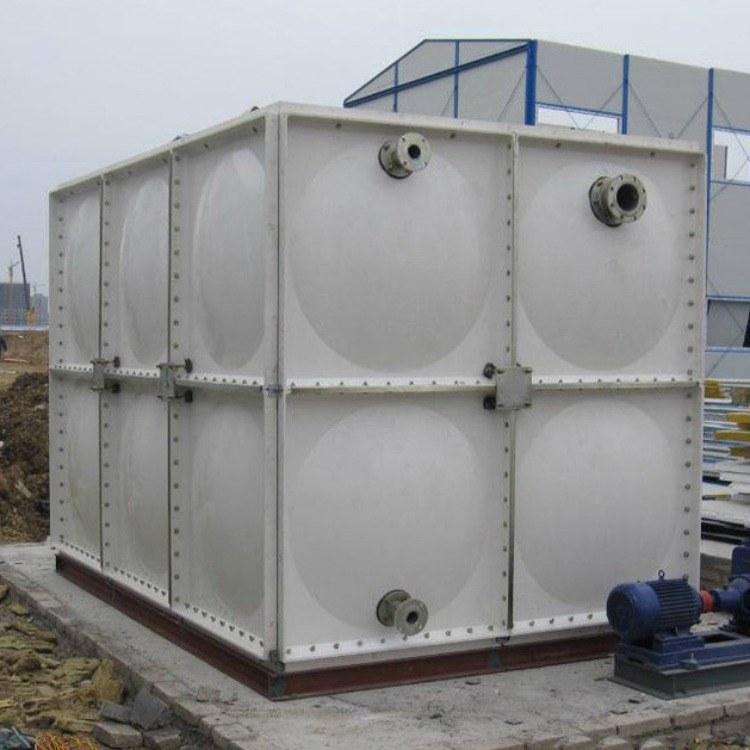 玻璃钢水箱 厂家直销 屋顶式 保温式  组合式 消防水箱