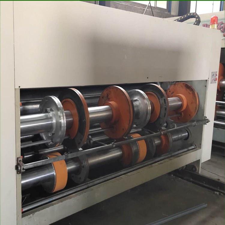 二手纸箱设备厂家 转让 二手纸箱印刷开槽机 3000x530双色印刷开槽机 双色印刷开槽机 带打空