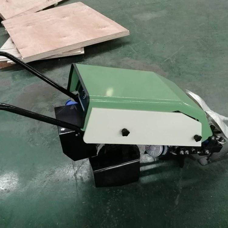 程煤韭菜收割机   小型电动手扶式自走割菜机  扶式韭菜收割机 厂家直销