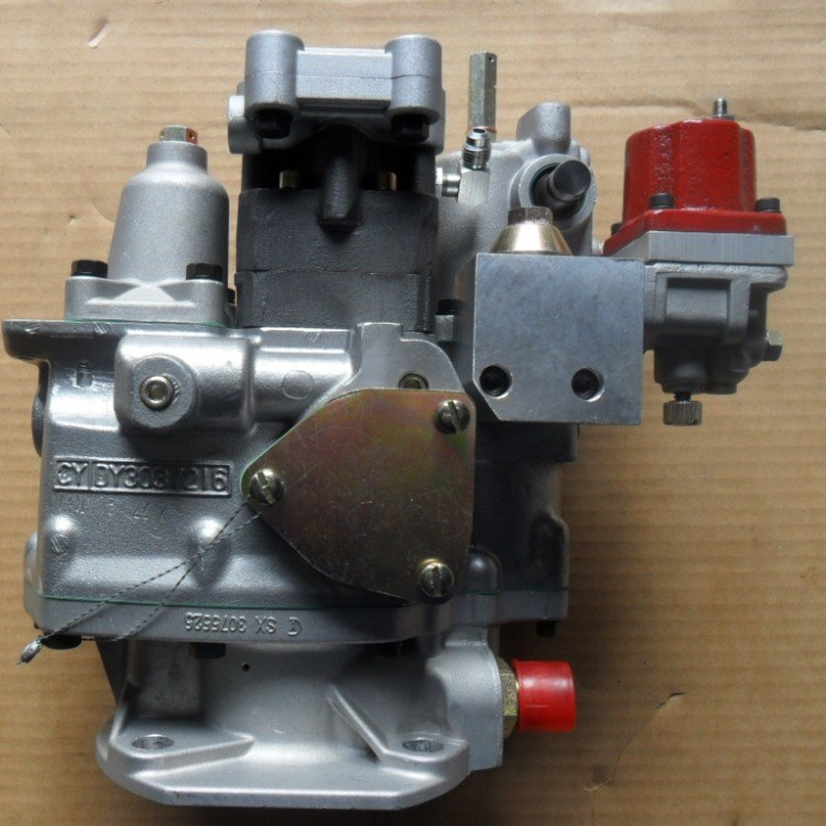 山推配件 SD22燃油泵重庆康明斯发动机PT泵原厂NT855高压油泵总成4951501