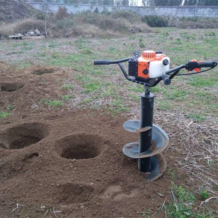 富强 林业植树挖坑机 树木拖拉机挖坑机