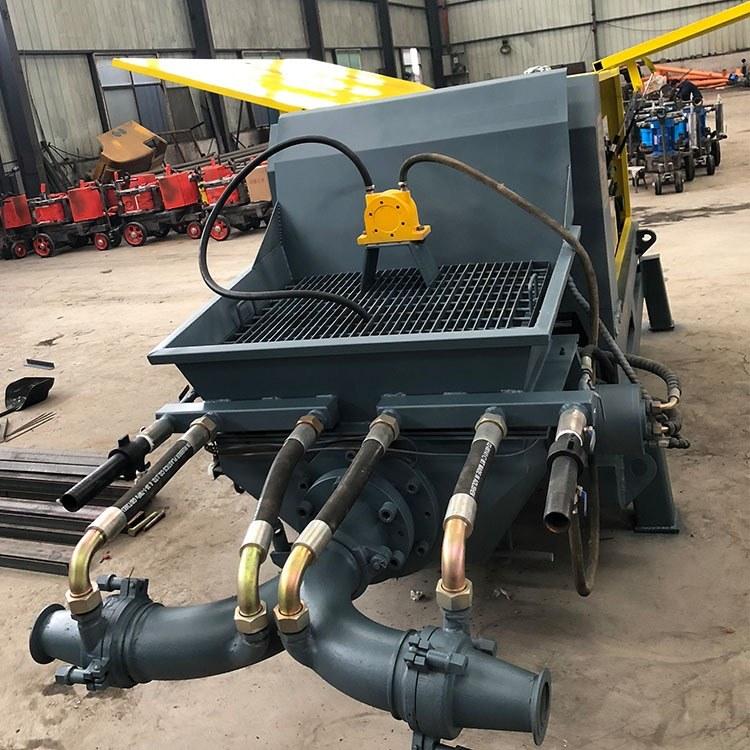 泵送活塞式湿喷机 C20混凝土湿喷机 精恒GYP-90喷浆支护专卖
