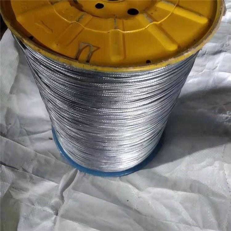 德力钢丝绳厂家直销8毫米镀锌钢丝绳 6mm捆绑钢丝绳 10mm涂塑钢丝绳5mm