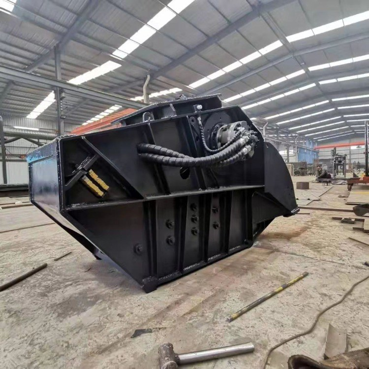 山科移动式破碎机  山东破碎斗厂家大量批发 来图定制