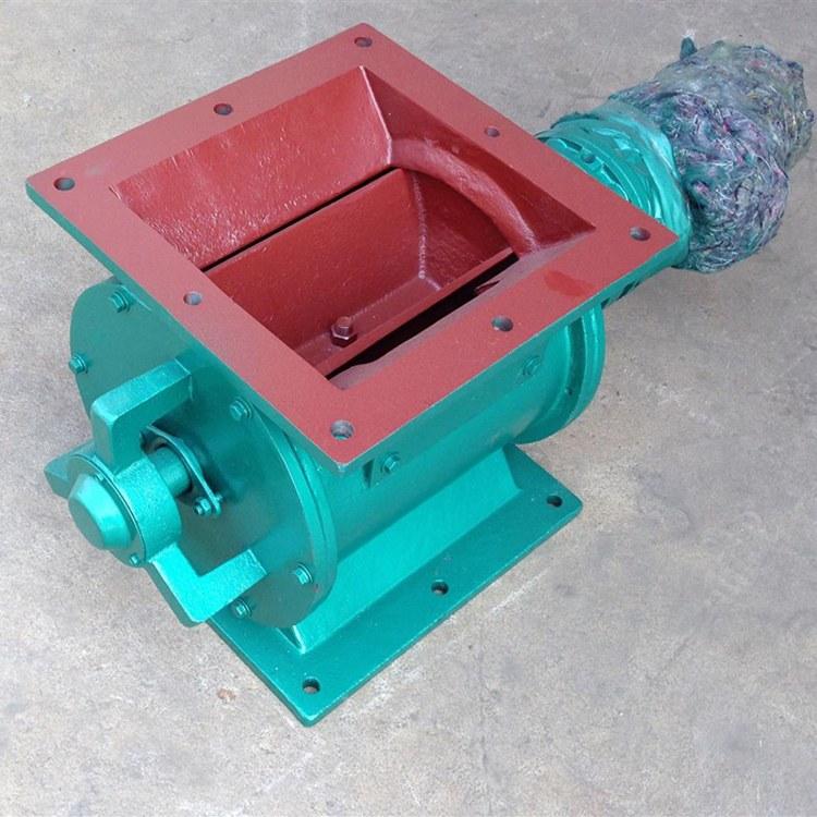 恒业专业生产 圆口星型卸料器不锈钢圆形铸铁星型卸灰阀 卸灰阀